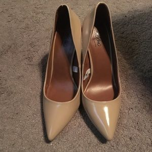 Gorgeous Mossimo Nude Heels, Size 8